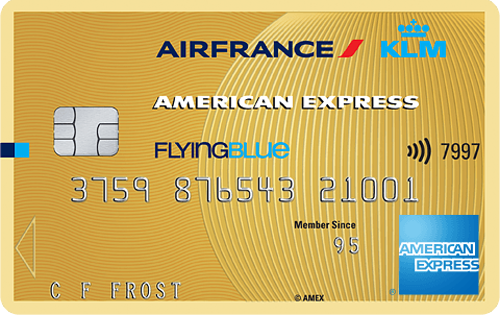 Flying Blue American Express Gold Card